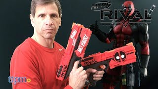 Nerf Rival Deadpool Kronos XVIII-500 Blasters from Hasbro