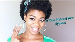 2 Year Natural Hair Update! - (length, Regimen, Knots, Summer, Encouragement Etc.) - 4c Natural Hair