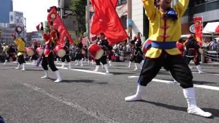 琉球國祭り太鼓 ・アルタ前 ・新宿エイサーまつり 2014 ・2014-07-26.