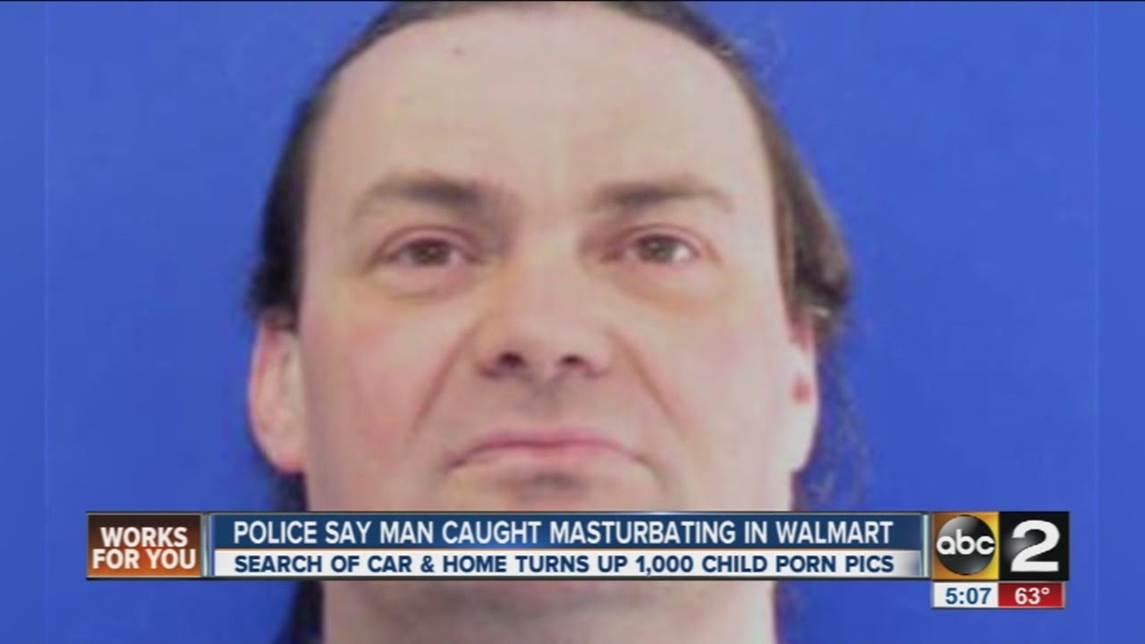 Men caught masturbating porn