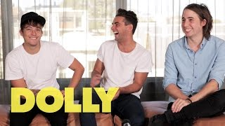DOLLY Interviews Short Stack: Cupcakes, Crazy Fans and Breaking Up! | Celeb Bites