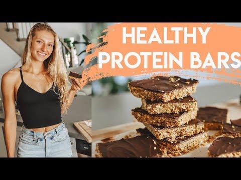 Homemade PROTEIN BARS Recipe (Easy & Healthy)