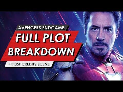 Avengers: Endgame: Full Leaked Plot Breakdown + Post Credit Scene Explained   HEAVY SPOILERS