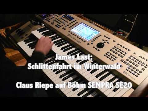 Schlittenfahrt im Winterwald - James Last, Claus Riepe an Böhm SEMPRA SE20