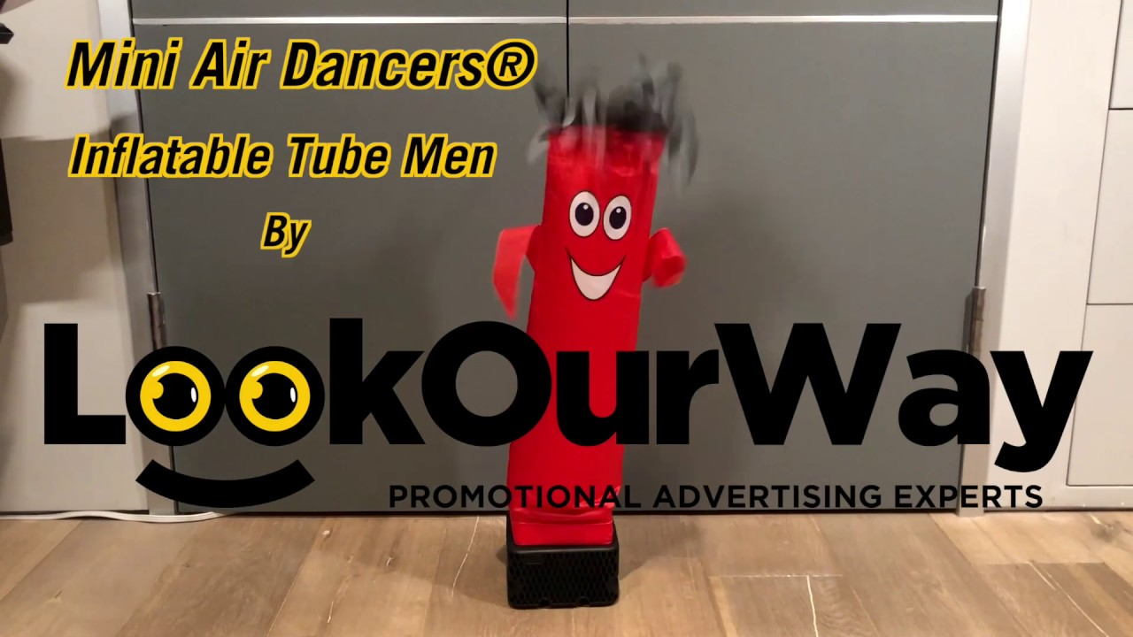 Mini Air Dancers Inflatable Tube Man By Lookourway