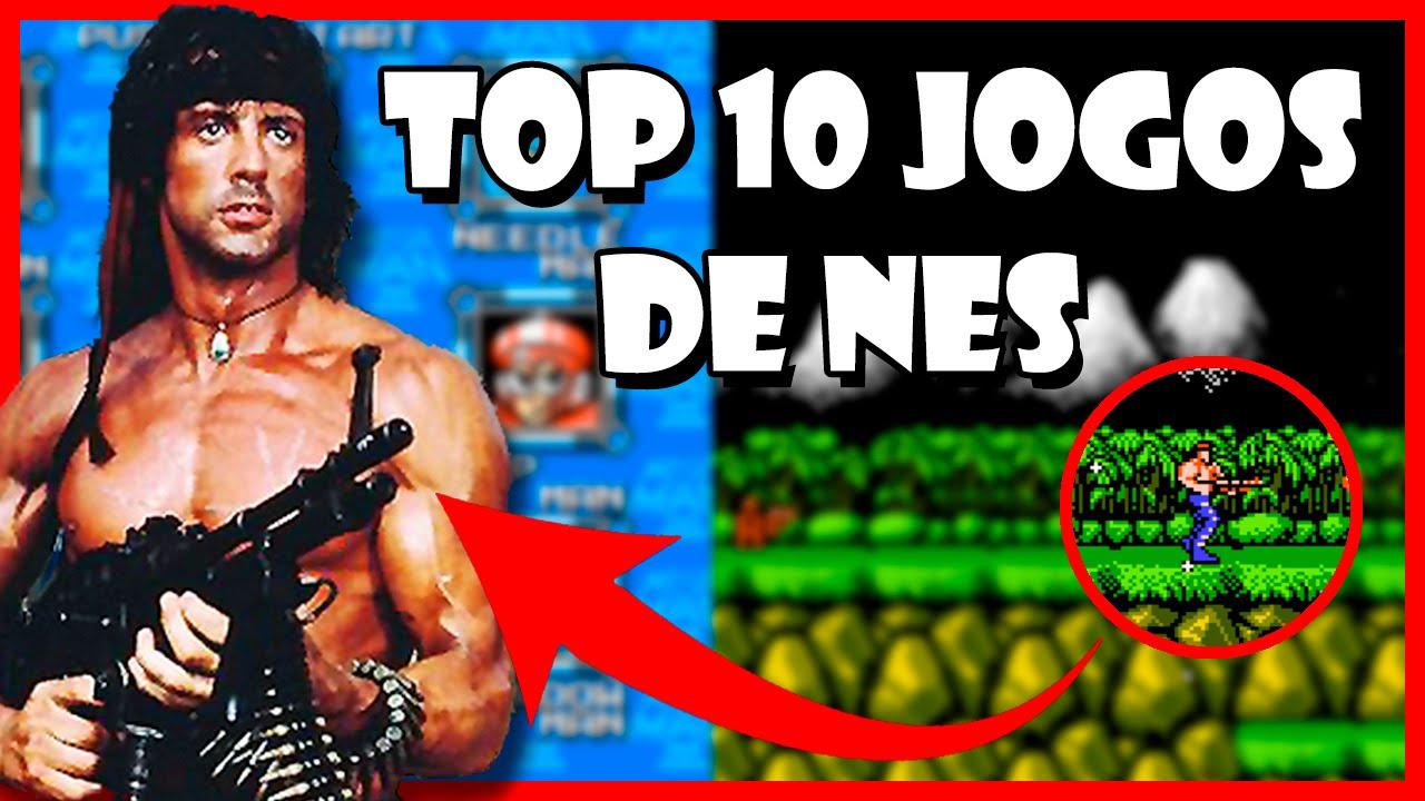 TOP 10 MELHORES JOGOS DE NES / Nintendinho / Nintendo 8 Bits (Games Antigos)