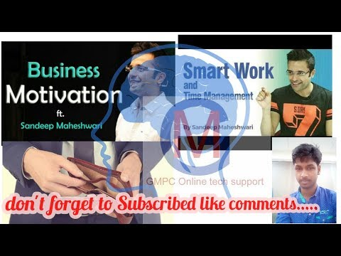 who to start business with no mony??? By sanddep Maheswari H