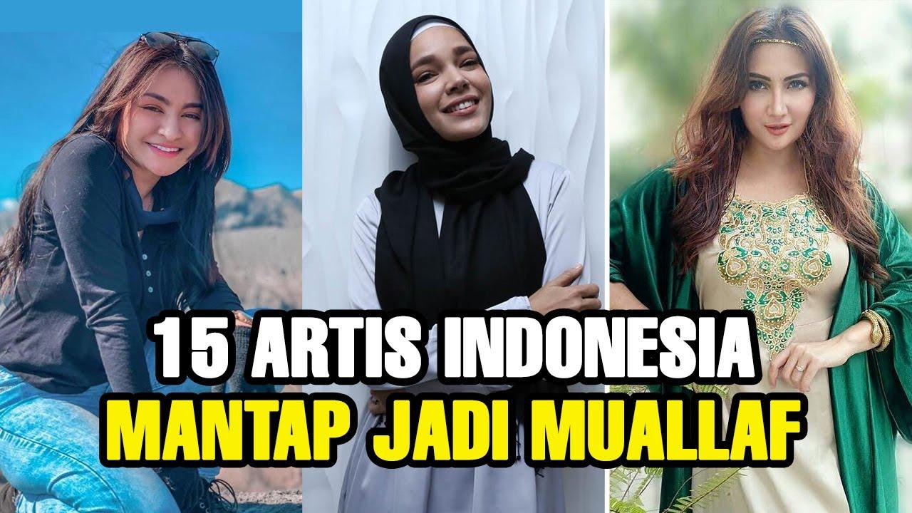 DAPAT HIDAYAH, 15 ARTIS INI MANTAP MENJADI MUALLAF