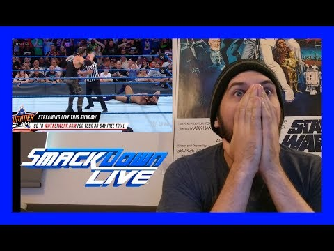 REACTION: BARON CORBIN CASHES IN!!!! (WWE SMACKDOWN LIVE 8/15/17)