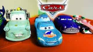 CARS 2. Cars from the movie CARS 2 changing color. Lightning McQueen and Mater CARS 2 CARS. Toys TV