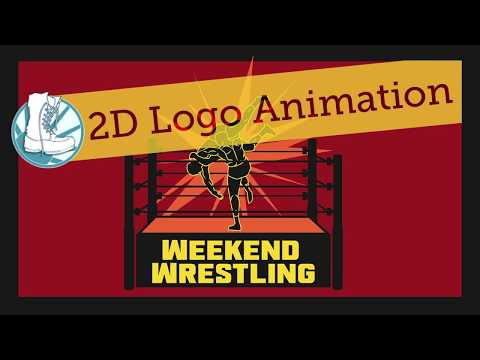 Weekend Wrestling, 2D Logo Animation, Blueboot Media Client Project