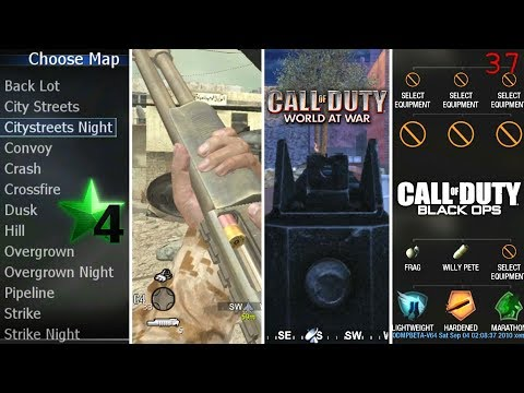 INSANELY RARE FOOTAGE! Pre-Alpha Call of Duty 4 & World at War Gameplay, Early Black Ops Multiplayer