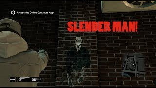 SLENDER MAN IN WATCH DOGS! | Gameplay #5