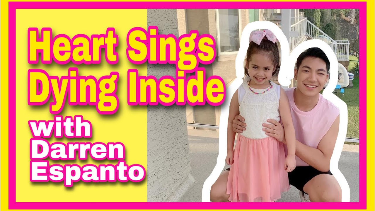 Heart Sings Dying Inside with Darren Espanto | Moments and Fun | Hearty Activity | Hearty Vlog