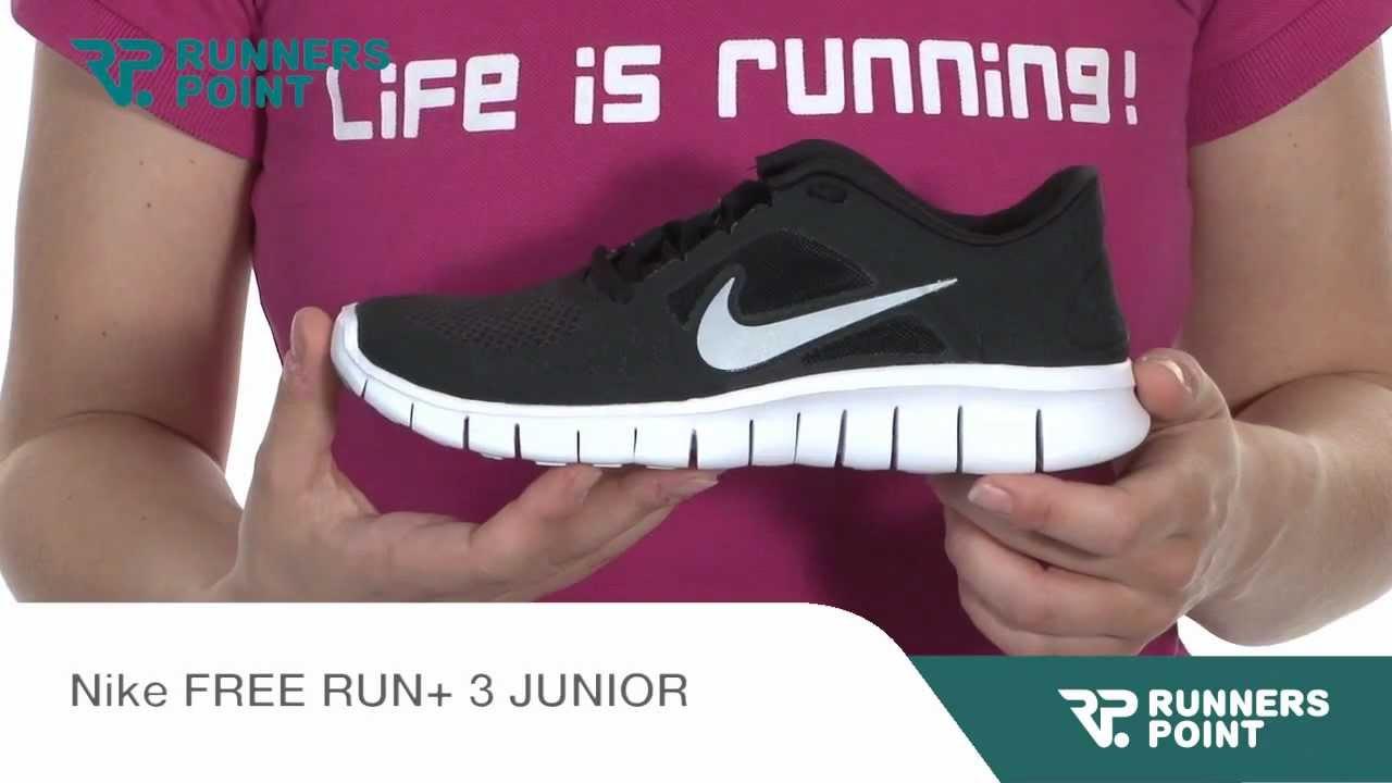 pretty nice c6a69 a1518 Nike FREE RUN+ 3 JUNIOR