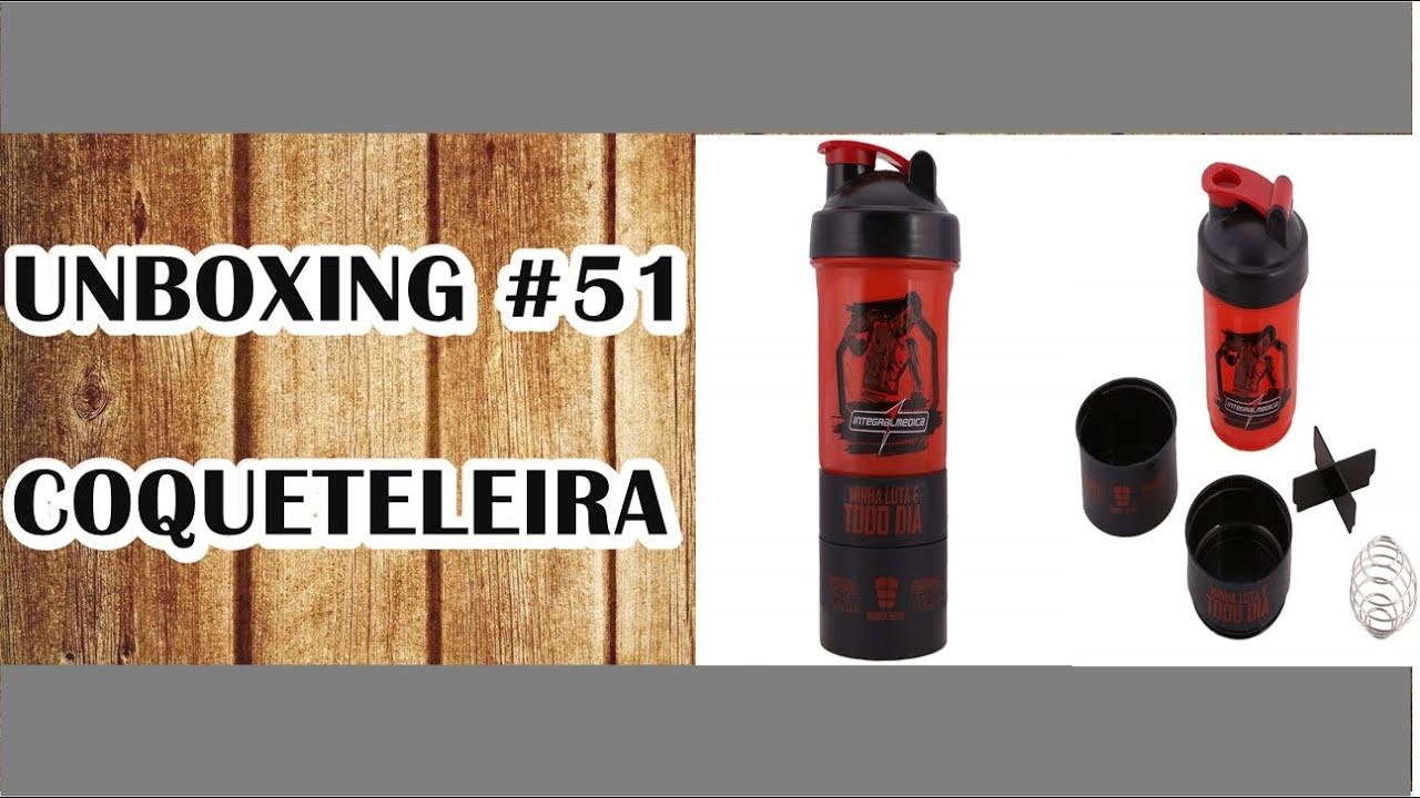 1db9b55f6 UNBOXING  51 - MNW  Coqueteleira IntegralMedica (3 Doses) - YouTube