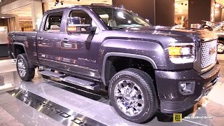 2015 GMC Sierra HD Denali - Exterior and Interior Walkaround - 2015 New York Auto Show