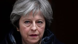 British PM Theresa May announces expulsion of Russian diplomats in response to nerve agent attack