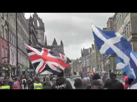S.D.L. ANTI TERRORISM DEMO. EDINBURGH 25/06/2017