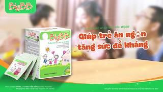 BigBB giúp trẻ ăn ngon, tăng sức đề kháng, giảm tái phát viêm đường hô hấp