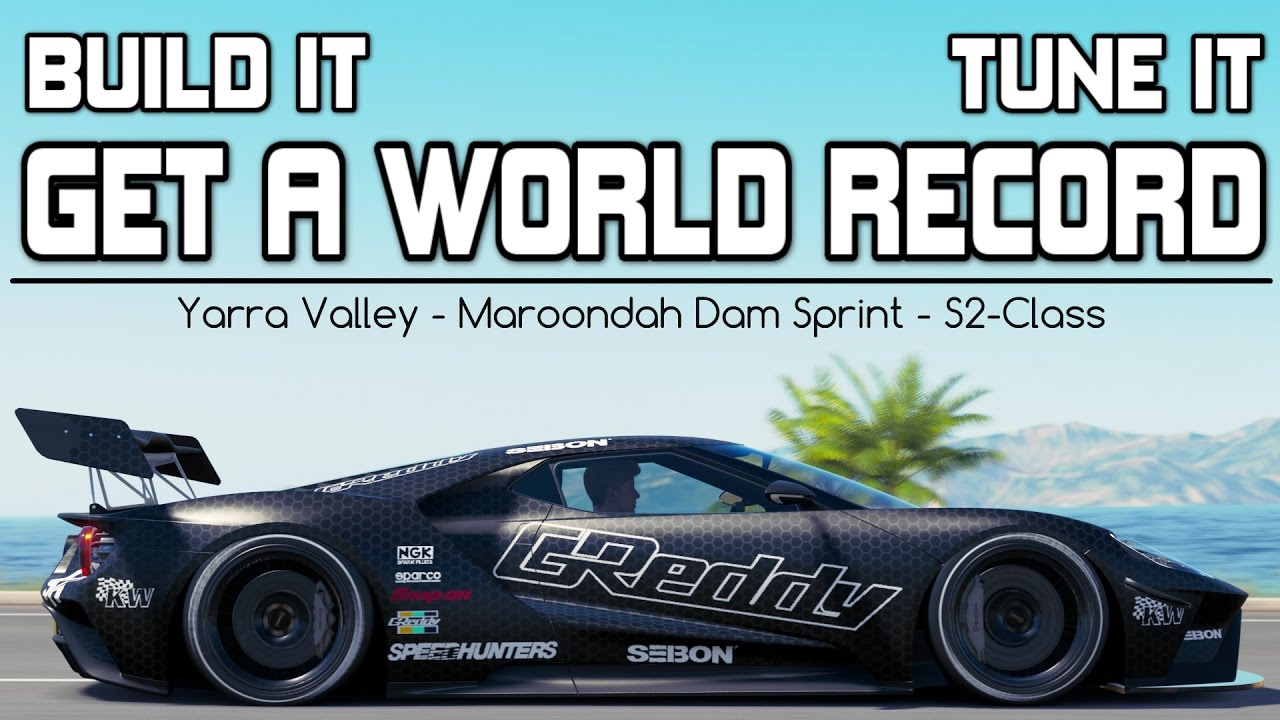 Forza Horizon  Bhp Ford Gt World Record Build And Tune Youtube