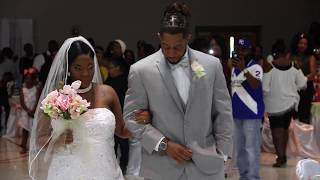Mr. & Mrs. Polk wedding day