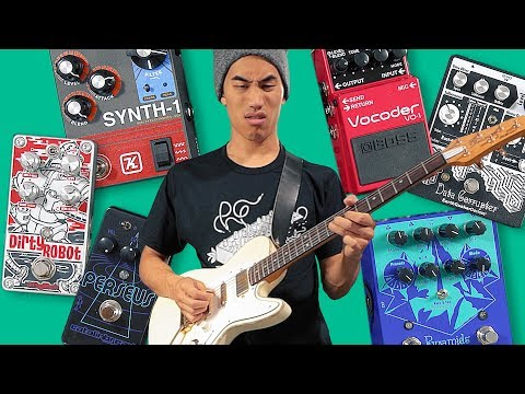 Testing 10 world record breaking guitar pedals!