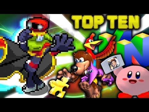 Top Ten Nintendo 64 Games