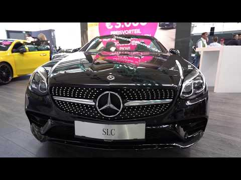 2019 Mercedes Benz SLC Class Roadster - Interior and Exterior