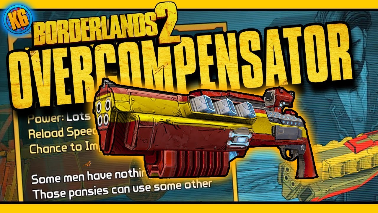 OVERCOMPENSATOR - New DLC Legendary [Borderlands 2]