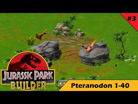 Jurassic Park Builder Pteranodon Level 1-40 - YouTube