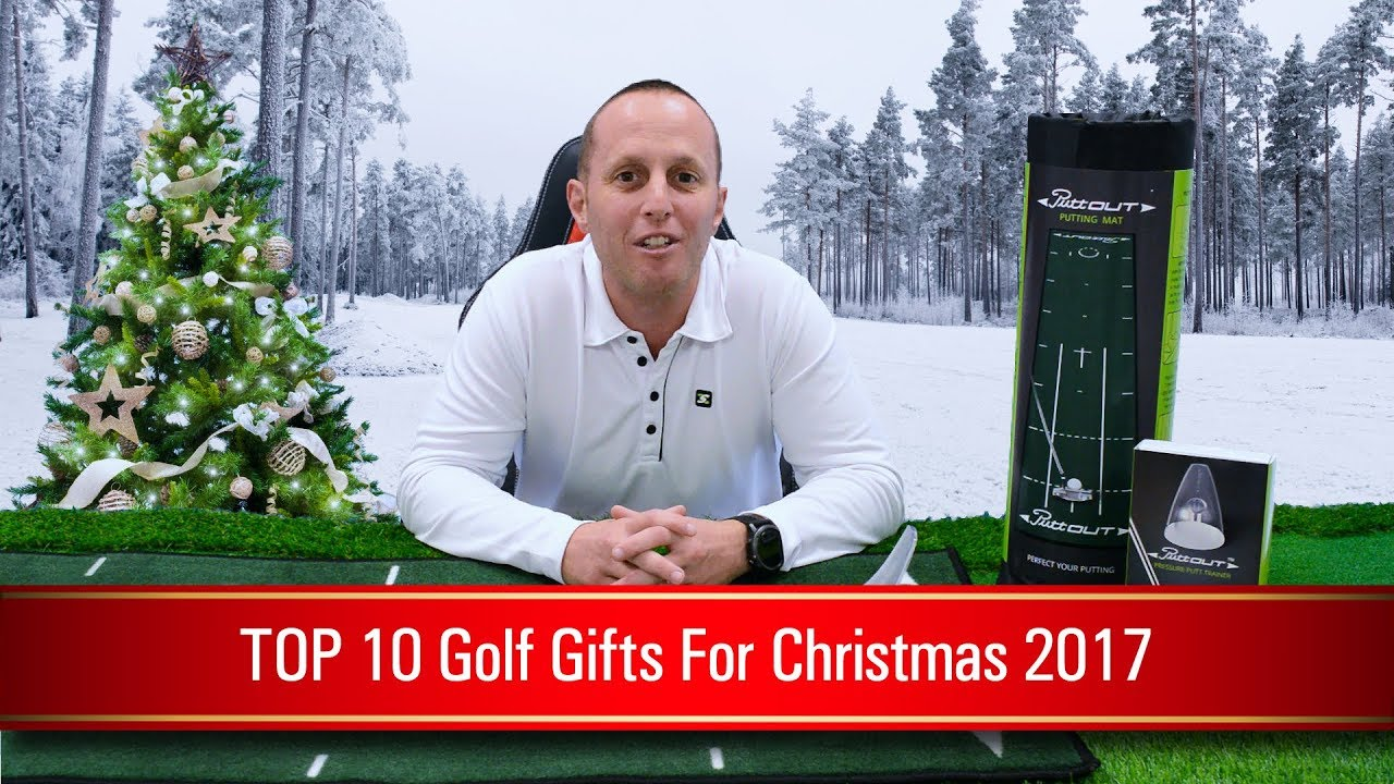 TOP 10 Golf Gifts for Christmas 2017 - YouTube