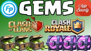 Gems für Clash of Clans & Clash Royale || Appbounty vs. Feature Points || Was lohnt sich?