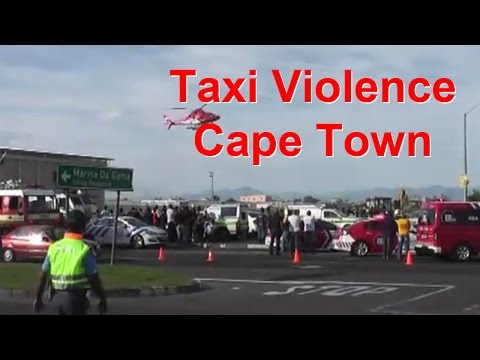 Taxi violence, Cape Town