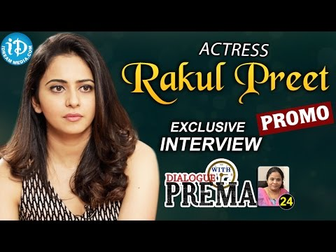 Actress Rakul Preet Singh Exclusive Interview - Promo | Dialogue With Prema |Celebration Of Life #24