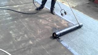 Гидроизоляция кровли крыши гаража(, 2016-04-20T04:14:25.000Z)