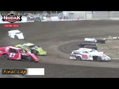 Nodak Speedway IMCA Sport Mod Heats (6/9/19)