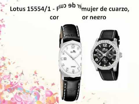 Los 10 Mejores relojes lotus mujer Para Comprar.mp4 - YouTube 383a4b1f606a