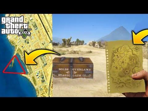 Rockstar Añadio y Esconde el Cofre del Tesoro Misterio GTA 5