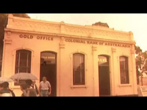 Quirky museums: Gold affair in Australia
