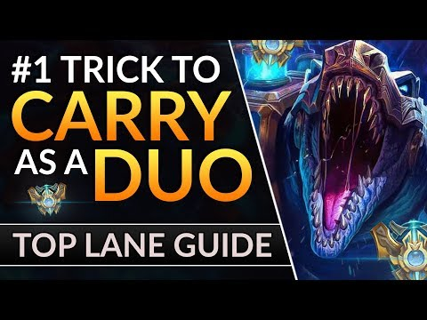 The TOP LANE SECRET To HARD-CARRY: Pro Tips To DUO With Your JUNGLER | LoL Challenger Guide