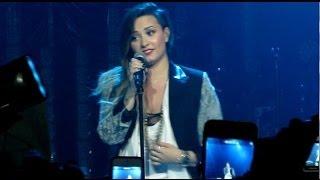 FULL Demi Lovato Speech   KOKO   Neon Lights Tour   London 01/06/14 Thumbnail