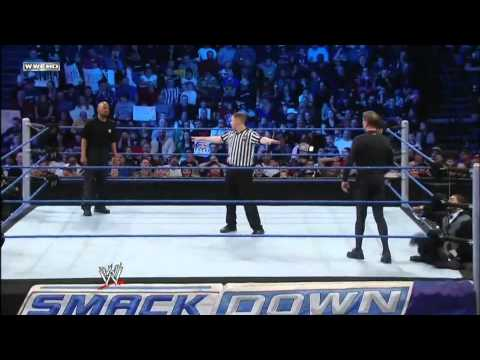 Teddy Long vs John Laurinaitis WWE Smackdown 3/9/12