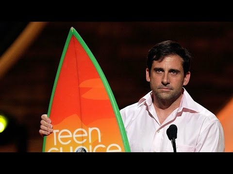 Steve Carell Wins at Teen Choice Awards 2007