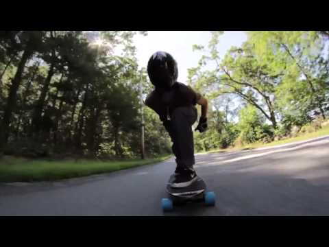 Bradley Harper Shreds It All  Longboarding And Snowboarding