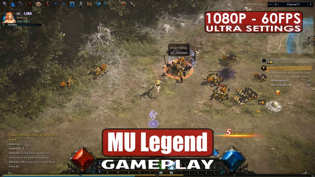 MU Legend gameplay PC HD [1080p/60fps] – Closed Beta