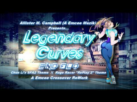 Legendary Curves 2nd Flo: Chun Li SFA2 X Rage Racer