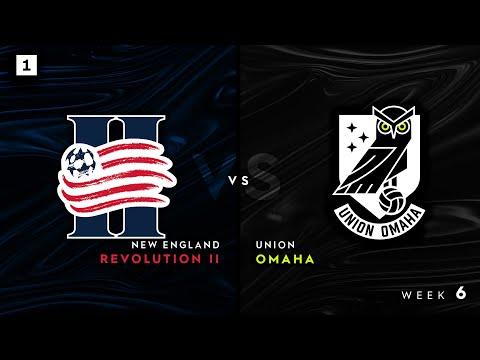 New England Revolution II vs. Union Omaha: May 12, 2021