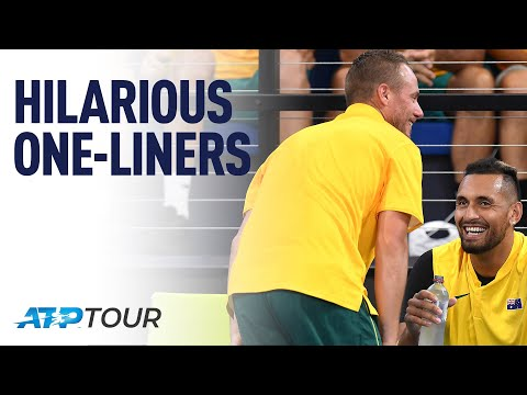 One-Liners | WHY WE LOVE TENNIS | ATP from YouTube · Duration:  5 minutes 5 seconds