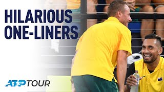 One-Liners | WHY WE LOVE TENNIS | ATP